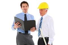 2 архитектора людей Стоковое Изображение RF
