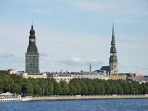 2 башни Стоковая Фотография