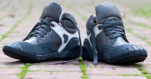 2 ботинка для детей Стоковая Фотография