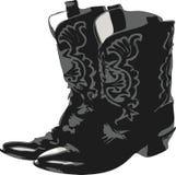 2 ботинка западного Стоковое Изображение RF