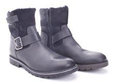2 ботинка зимы Стоковая Фотография RF
