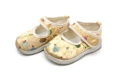 2 ботинка младенца Стоковые Изображения RF