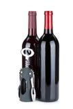 2 бутылки красных вина Стоковые Фото