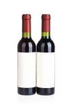 2 бутылки красных вина Стоковые Изображения RF