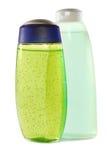 2 бутылки шампуня Стоковая Фотография