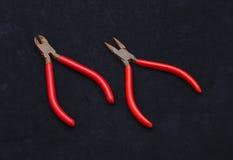 2 вида плоскогубцев Стоковые Фото