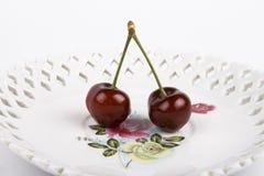 2 вишни Бинга Стоковое фото RF