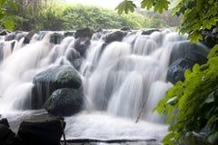 2 водопада Стоковые Фото