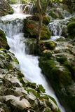 2 водопада plitvice национального парка Стоковое фото RF