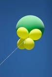 2 воздушного шара Стоковые Изображения