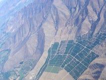 2 воздушных серии ландшафта земледелия Стоковые Изображения RF