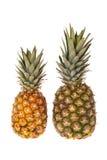 2 всех плодоовощ ананаса Стоковые Фото