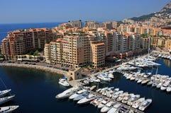 2 гавань Монако Стоковые Фото