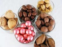 2 гайки конфеты Стоковое Фото