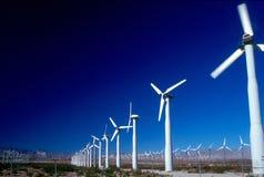 2 генератора приводят ветер в действие Стоковые Фотографии RF