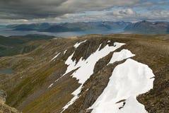 2 горы Стоковые Фотографии RF