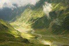 2 горы fagaras Стоковые Фото