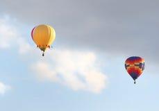 2 горячих воздушного шара Стоковая Фотография