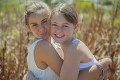 2 девочка-подростка Стоковые Фото