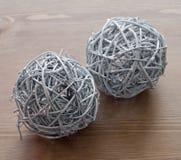2 декоративных шарика Стоковые Изображения RF