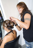 2 делают волос затейливые Стоковые Изображения RF