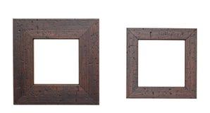 2 деревянных рамки Стоковая Фотография RF