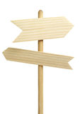 2 деревянных стрелки Стоковое фото RF