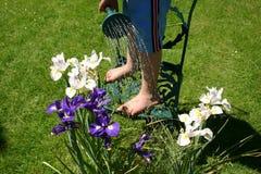 2 детеныша садовника Стоковая Фотография
