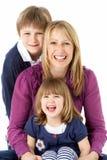 2 дет будут матерью детенышей студии Стоковые Изображения