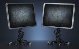 2 дисплея Стоковая Фотография