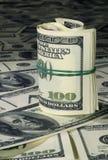 2 доллара вороха Стоковые Изображения