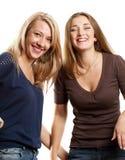 2 европейских женщины Стоковые Фото