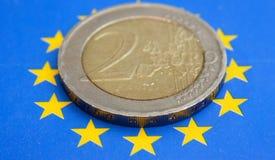 2 евро Стоковые Фото