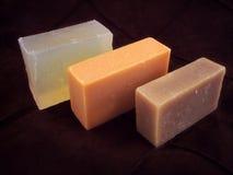 2 естественных мыла Стоковая Фотография
