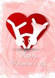 2 желания valentines дня Стоковое Фото
