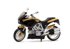 2 желтый цвет изолированный bike Стоковые Изображения