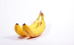 2 желтых банана Стоковое Изображение RF