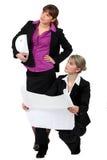 2 женских архитектора Стоковая Фотография RF