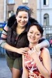 2 женщины молодой Стоковые Фотографии RF