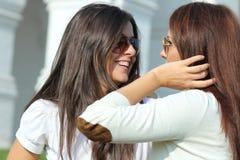 2 женщины молодой Стоковая Фотография