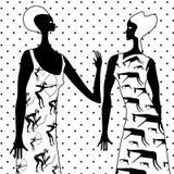 2 женщины бесплатная иллюстрация