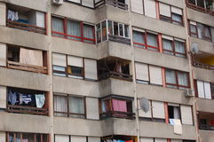 2 жилого квартала Стоковая Фотография RF