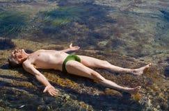 2 загара рифов человека Стоковые Изображения RF
