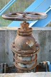 2 заржаветый клапан Стоковая Фотография