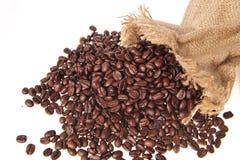 2 зерна кофе Стоковые Фото