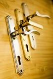 2 золотистых handls Стоковое фото RF