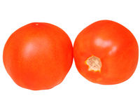 2 зрелых томата Стоковое Фото