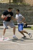 2 игрока дракой шарика Стоковая Фотография RF