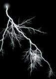2 изолированная молния Стоковое Фото
