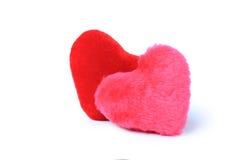 2 изолированного сердца valentine Стоковое Изображение RF